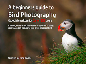 Beginner's Guide to Bird Photography by Nina Bailey (reprint)