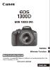 Canon EOS 1300D basic instruction manual (reprint)